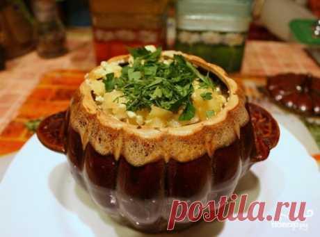 Чанахи из курицы в горшочках - пошаговый кулинарный рецепт с фото на Повар.ру