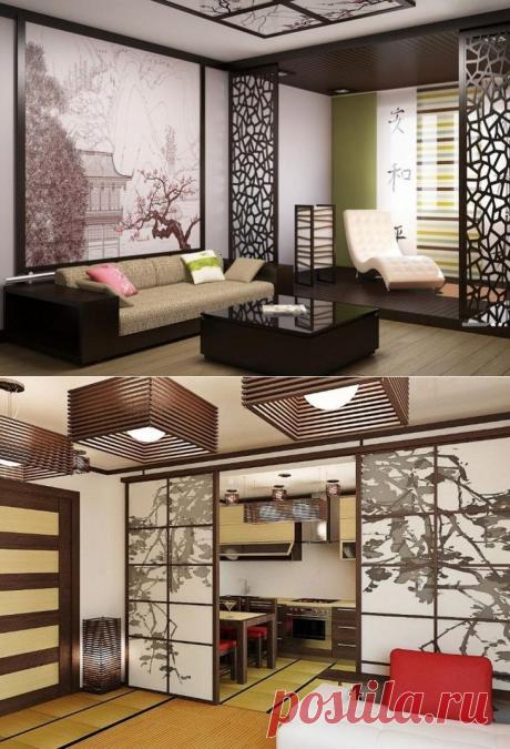 Идеи дизайна маленькой квартиры в японском стиле
