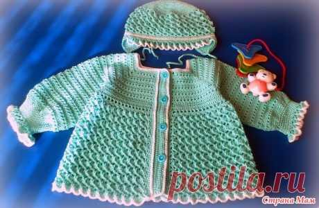 Комплект цвета мяты - Вязание - Страна Мам