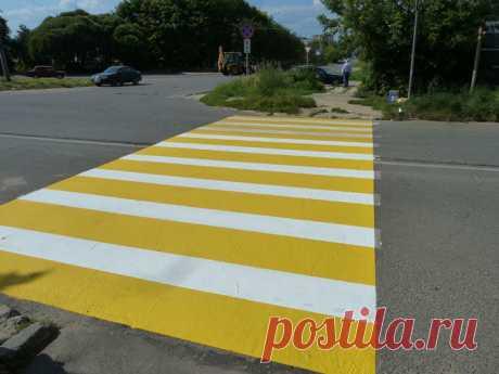Значение желтой разметки на дороге | Делимся советами