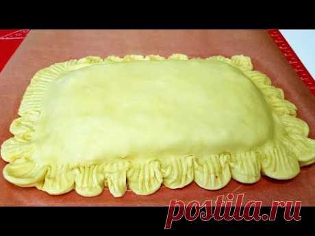 Все гости были в восторге от этого Вкусного Пирога☆Куриный Пирог из песочного теста