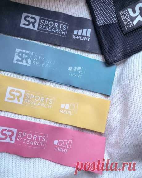 Спорт дома с эластичными лентами Sports Research Mini Loop Bands