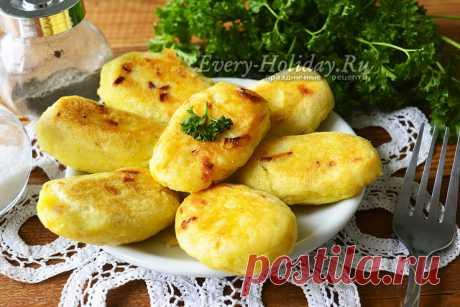 Картофельные котлеты из картошки в мундире, рецепт