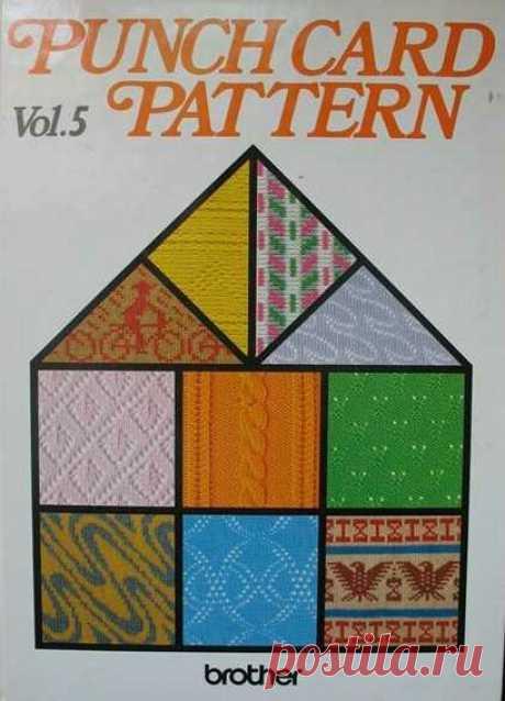 Узоры для машинного вязания. Punch Card Pattern vol.5 — Яндекс.Диск