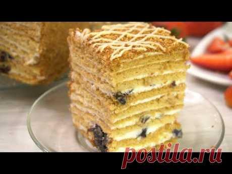 Торт, который я готовила уже 1000 раз и буду готовить еще много раз! Торт «Рыжик»