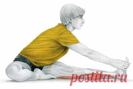 20 упражнений для растяжки ног | Я Могу | Яндекс Дзен