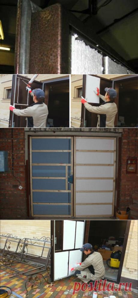 Утепление металлической входной двери своими руками: эффективный способ | Фасад эксперт | Яндекс Дзен
