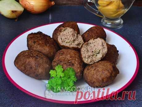 Кефте (турецкие котлеты) — рецепт с фото Готовим куру кёфте из говяжьего фарша с панировочными сухарями (без подливки). Жарим во фритюре в домашних условиях. Подойдёт и баранина.