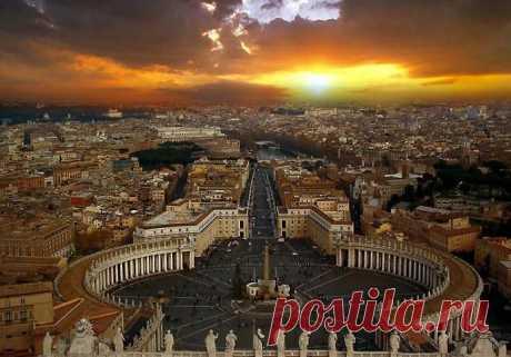 Закат Ватикана.
