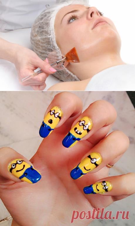 Красота - добрая сила: Маникюр на 1 апреля: идеи дизайна ногтей с улыбкой