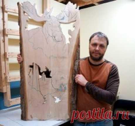 Резьба по дереву  Владимир Давыдов