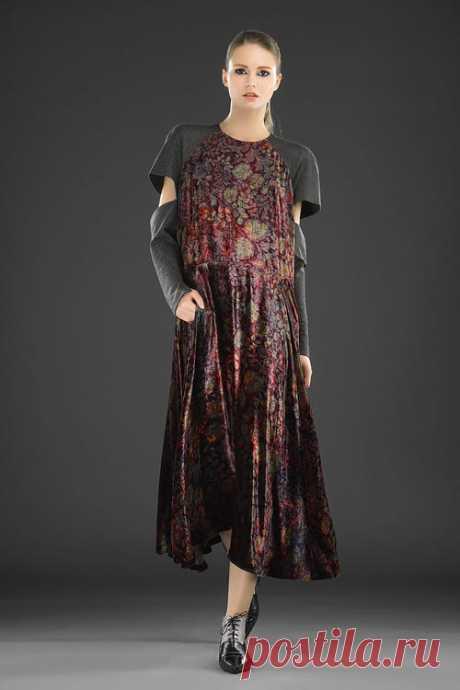 Мода по - русски — Татьяна Котегова. Коллекция осень - зима 2016-2017