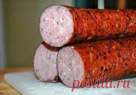 Куриная колбаска домашняя — Sloosh – кулинарные рецепты