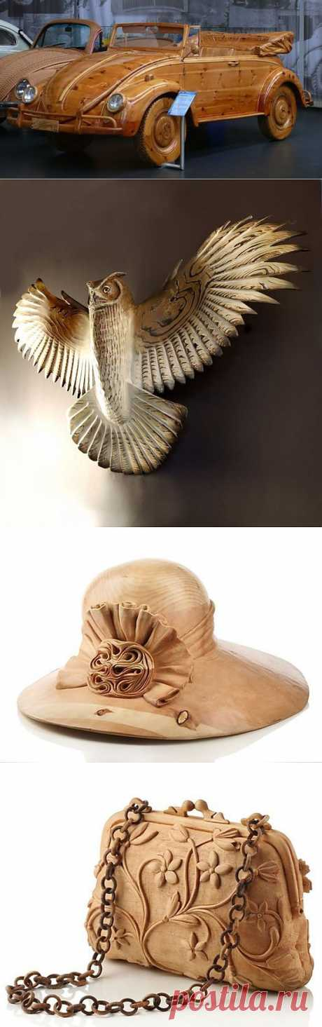 Потрясающие и невероятные скульптуры из дерева - Фото - Калейдоскоп Эмоций
