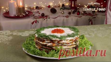 Печёночный торт - красивая и очень вкусная закуска. Печёночный торт - красивая и очень вкусная закуска, по виду напоминающая популярное кондитерское изделие. Торт получается нежный и ароматный.