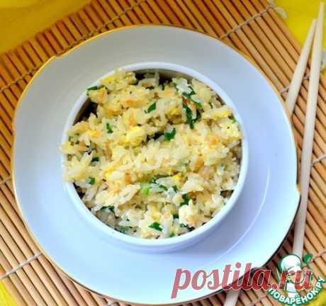 Рис с чесноком по-японски - кулинарный рецепт