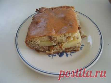 Пирог с фаршем и картофелем. Маринкины творинки
