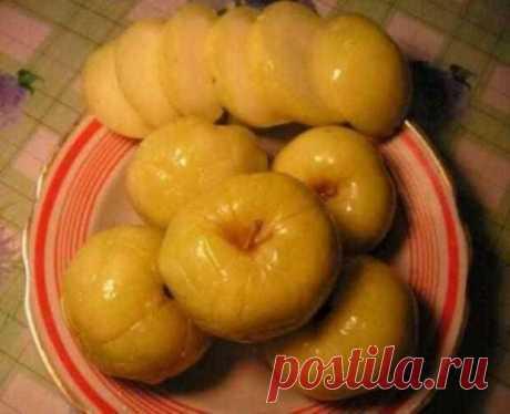 Моченые яблоки по монастырскому рецепту