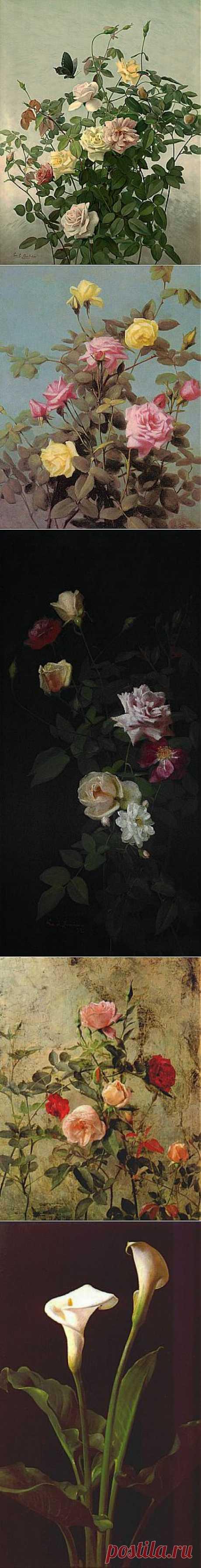 (+1) тема - George Cochran Lambdin - американский художник   Искусство