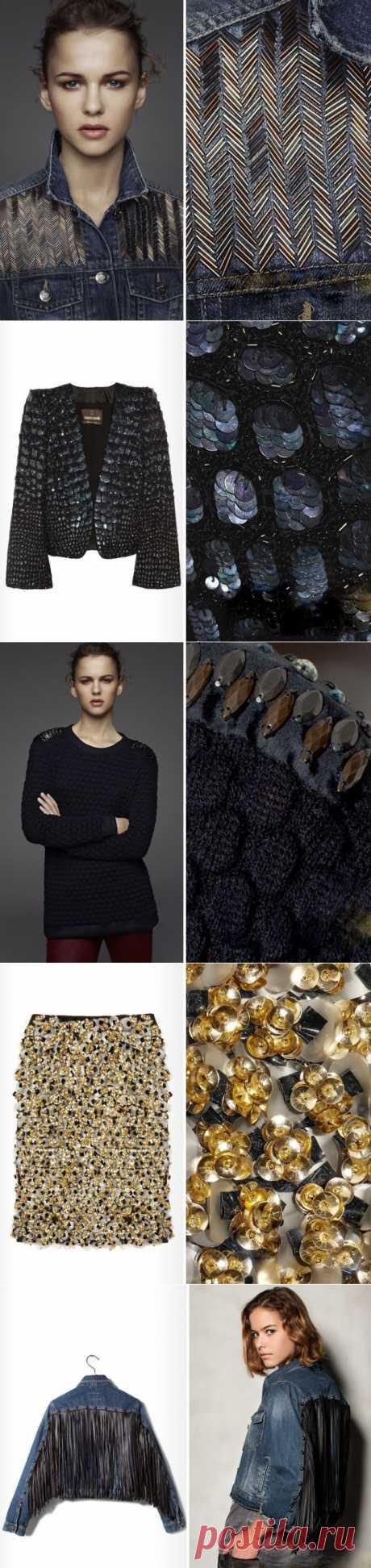 """""""Твид"""" de los abalorios, """"крокодил"""" - de payetok y otros milagros de la decoración \/ la Decoración \/ el sitio A la moda sobre el rehacimiento de estilo de la ropa y el interior"""