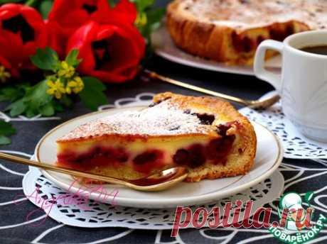 Заливной пирог с ягодами - Вкусно с Любовью - медиаплатформа МирТесен
