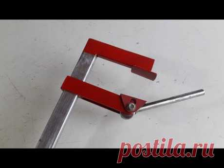 Quick F clamp | How to Make Long F-Clamps | Homemade clamp