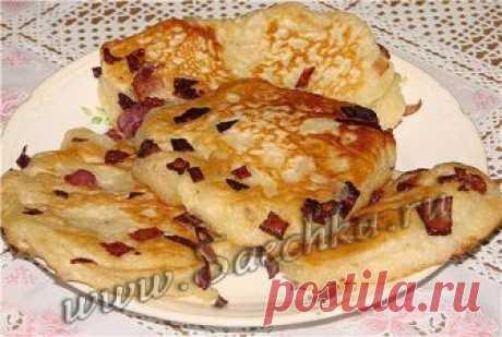 Постные оладьи с луковым припёком - рецепт с фото Постные оладьи с луковым припёком получаются вкусными.