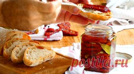 Итальянский секрет вяленых помидоров, о котором не знают российские хозяйки   Радио КП   Яндекс Дзен