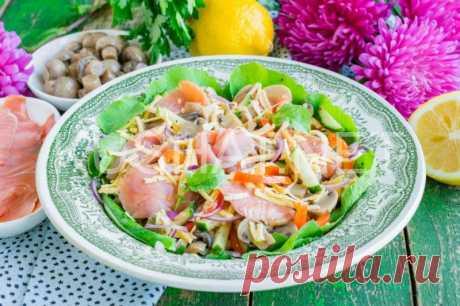Итальянский салат «Портофино». Пошаговый рецепт с фото   Кушать нет