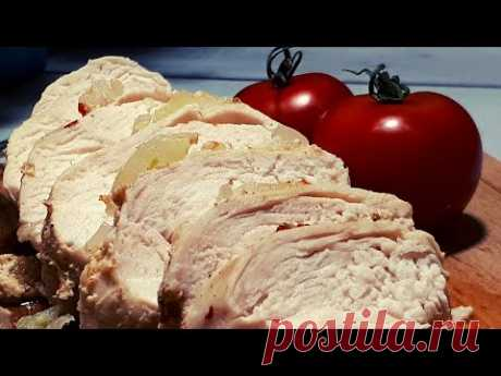 Фитнес Рецепты. Куриная грудка на кефире.&Fitness Recipes. Chicken breast on kefir.