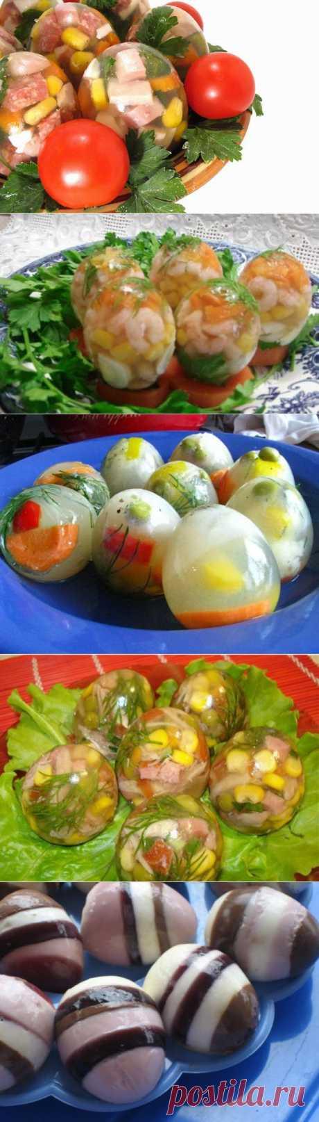 Пасхальные рецепты: ТОП-5 заливных яиц | ПолонСил.ру - социальная сеть здоровья