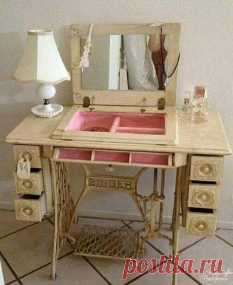 Использование станин от швейных машин