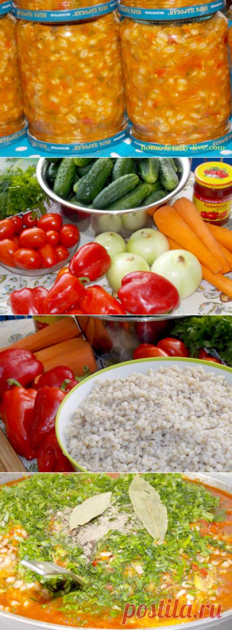 Рассольник на зиму в банках/Сайт с пошаговыми рецептами с фото для тех кто любит готовить