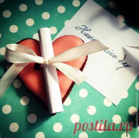 Делаем оригинальный подарок — сувенирное печенье с пожеланиями