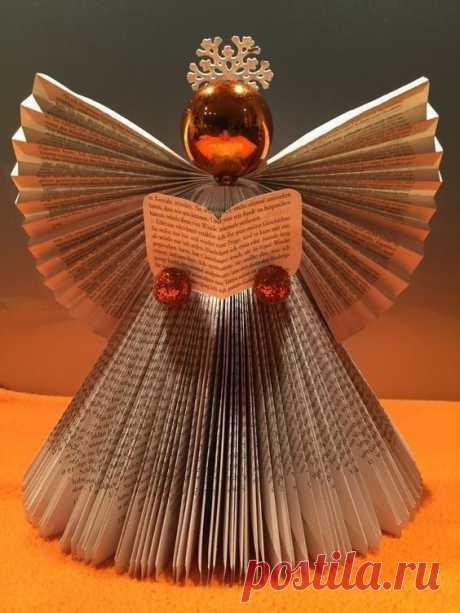 Бумажные ангелочки
