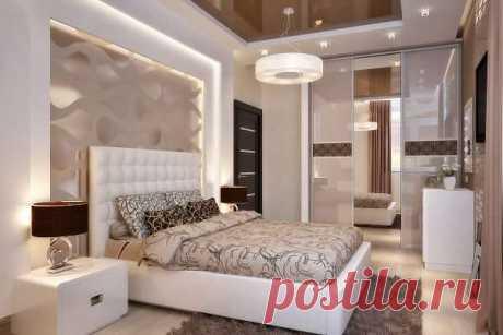 Дизайн спальни 16 кв м в современном стиле — фото интерьеров