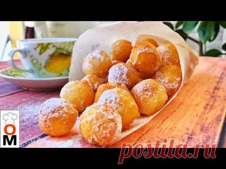 Творожные Пончики На Скорую Руку |  Кушаются как Семечки:) | Ольга Матвей