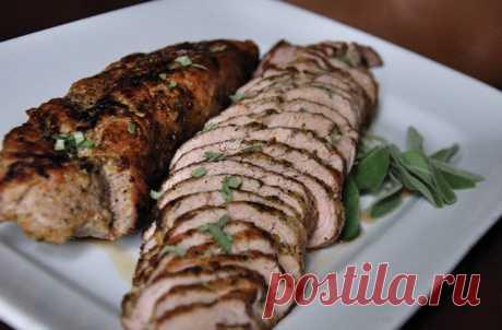 Pork in a sleeve