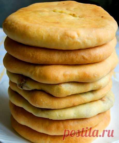 """Сванские мясные пироги """"Кубдари"""""""