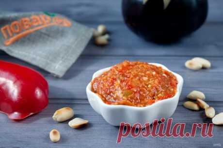 Баклажанно-перечный паштет с орехами - пошаговый рецепт с фото на Повар.ру