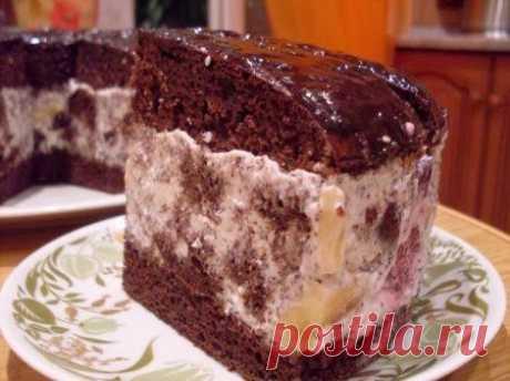 """шеф-повар Одноклассники: Шоколадный торт """"Африканская ромашка"""""""