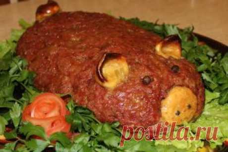 Мясная запеканка с картофелем Хрюн Василий рецепт с фото пошагово - 1000.menu