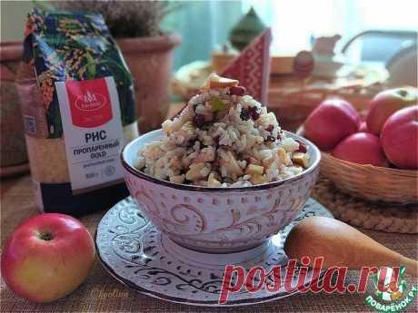 Фруктовый рис Кулинарный рецепт