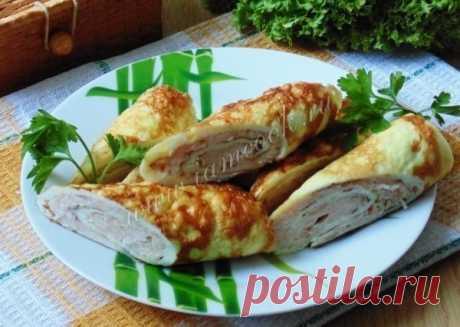 БРИЗОЛИ  Яйцо куриное - 3 штуки; Молоко - 3 столовые ложки; Филе куриной грудки - 300 грамм; Показать полностью…