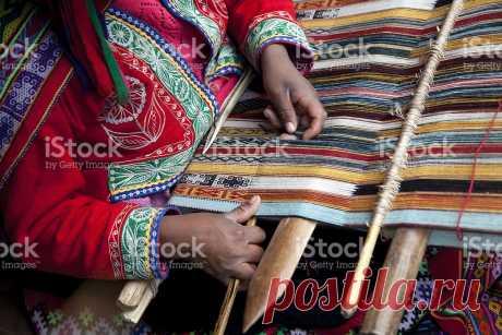 Перу Тканье Сток картинки 183413611   iStock