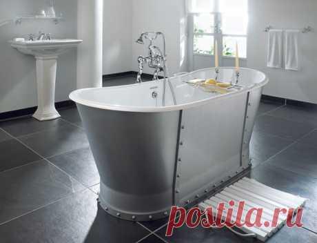Какая ванна лучше акриловая или стальная? – сравнение параметров