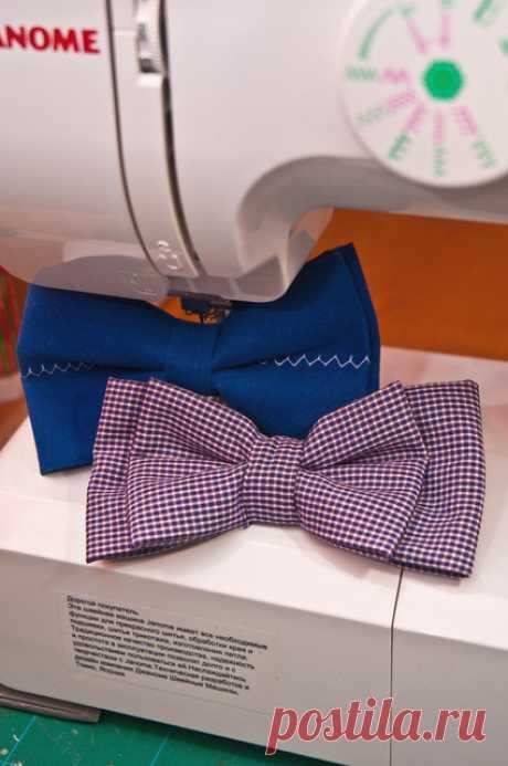 Как сделать галстук бабочку своими руками? Мастер-класс с фото