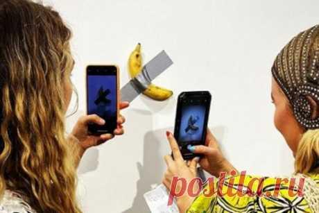 Банан, приклеенный к стене, продали за 7,5 миллионов рублей Почти год художник работал над своим проектом, создал несколько разных версий с... Читай дальше на сайте. Жми подробнее ➡