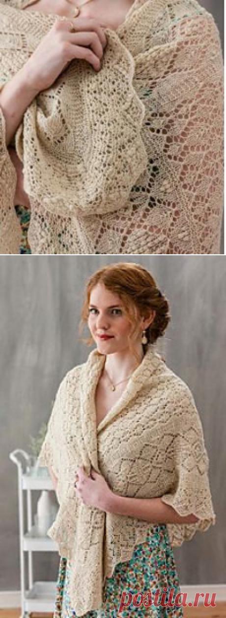 Ravelry: Linda's September 1981 Haapsalu Scarf to Knit pattern by Nancy Bush