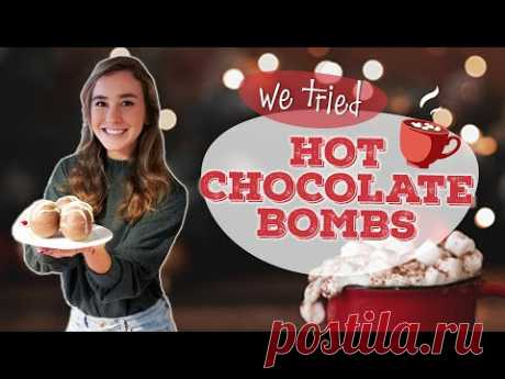 How to Make Hot Chocolate Bombs   Homemade Hot Chocolate Bombs   We tried it   Allrecipes